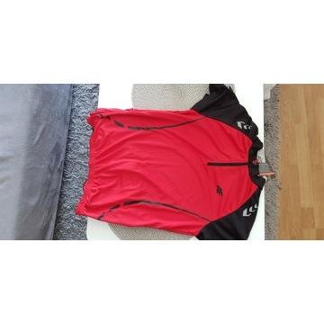 Koszulka rowerowa męska 4F czerwona L nowa T4L13