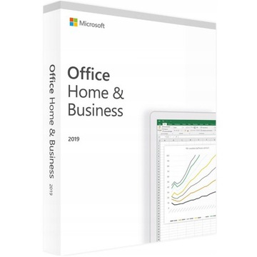 NOWY Office 2019 Home & Business PL BOX F-VAT 23%