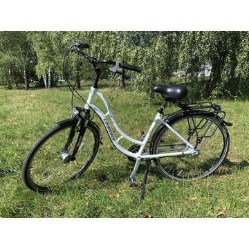 Rower miejski, Unibike Amsterdam, biały