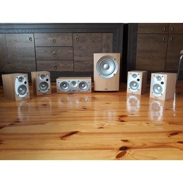 Głośniki kino domowe 5.1 INFINITY HCS BETA + subwo