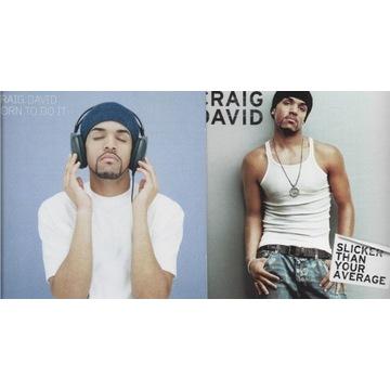 CRAIG DAVID - Slicker i   Born To  2CD's w cenie 1
