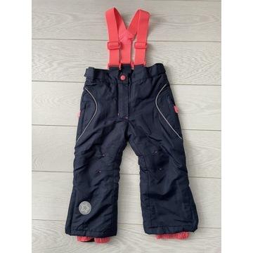 Spodnie narciarskie dziewczęce r.92 Cool Club