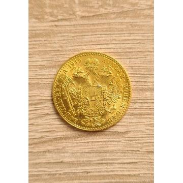 Złoto Austria Dukat 1915
