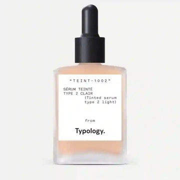 TYPOLOGY Tinted Serum Vitamin C, Squalane & Aloe