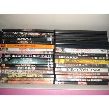 Filmy dvd, divx kolekcja