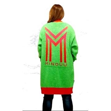 Kardigan Chiara Alys minouu zielony