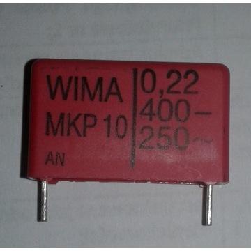 Kondensator MKP10-220N/400