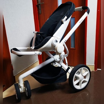 Wózek QUINNY MOODD 3W1 FOTELIK PEBBLE + Dodatki