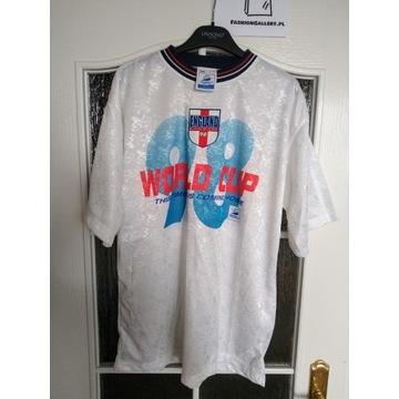 Oryginalna koszulka Anglii r.M World Cup '98 hype