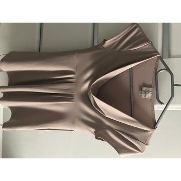 Bluzka zloto-bezowa LTD women xs