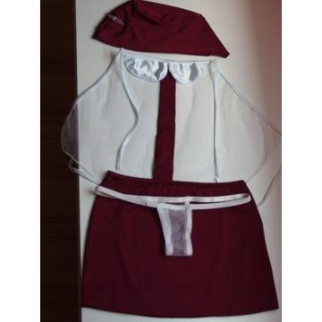 Strój przebranie kostium stewardessa stewardessy x
