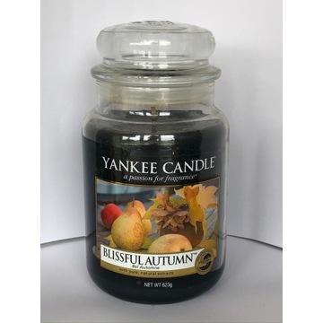 BLISSFUL AUTUMN Yankee Candle świeca NOWA (2012)