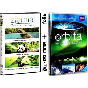 ZIEMIA + ORBITA BBC [2xDVD] [keep case] NOWE
