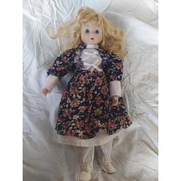 Kolekcjonerska lalka porcelanowa antyk vintage 40c