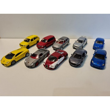 Siku - Kolekcja 10 modeli samochodów