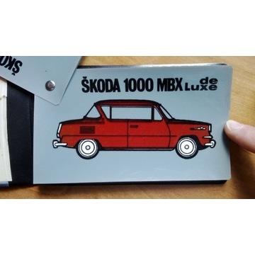 Skoda 1000 MBX De Luxe 1100 MB Octavia Combi 1969