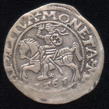 półgrosz litewski Zygmunt II August 1561
