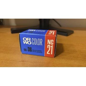 Negatyw kolor ORWO Color NC21 / exp 1991