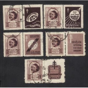 1948 - Walka z gruźlicą - 486 z różnymi przywiesz.