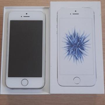 iPhone SE 32GB - używany- srebrny