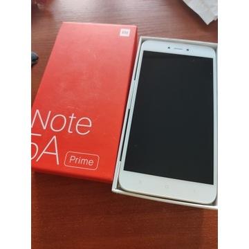 Xiaomi Note 5a2/16gb prime jak nowy