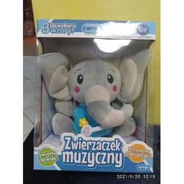 Zwierzaczek muzyczny słonik