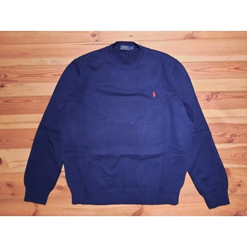 Ralph Lauren Polo sweter granatowy XXL
