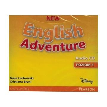 NEW ENGLISH ADVENTURE KOMPLET CD 1 PEARSON