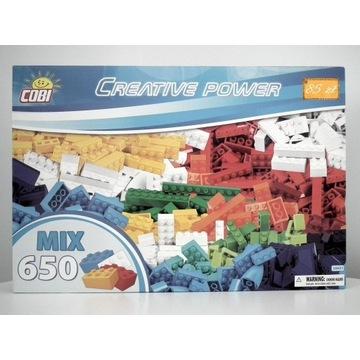 Klocki COBI Creative Power- 650 elementów (20651)