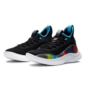 Buty Under Armour Curry 8 Tie Dye Black
