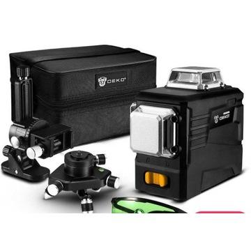 DEKO DKLL12PB2 360 laser samopoziomujący 3D 12 li