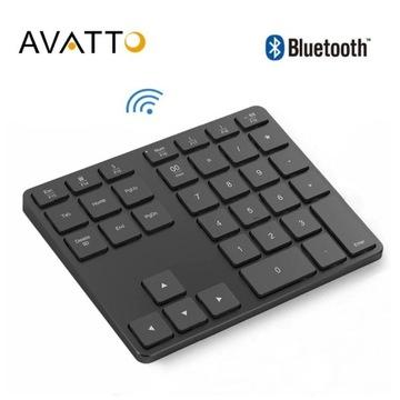 Klawiatura Bluetooth 5.0 AVATTO Aluminium