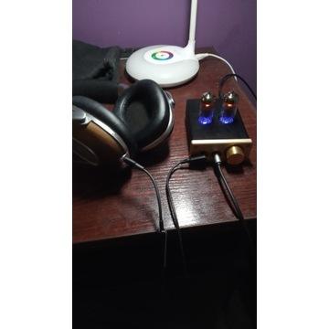 Wzmacniacz słuchawkowy lampowy hybrydowy
