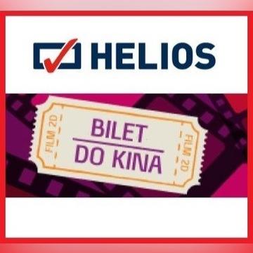 Kino HELIOS - bon na seans 2D - PN-ND - cała PL