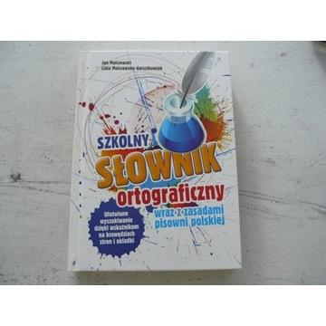 Szkolny słownik ortograficzny z zasadami pisowni