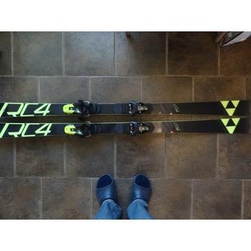 Narty Fischer GS jr 160cm + Z9
