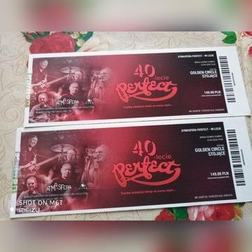 Bilety na koncert zespołu PERFECT