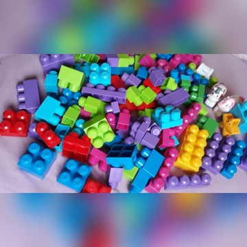 Klocki mega bloks 117 elementów
