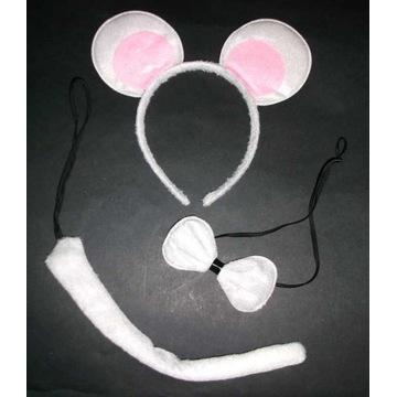 Opaska Szara Myszka uszy myszki