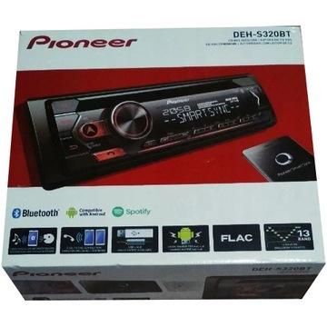 PIONEER MVH-S320BT  BLUETOOTH USB CD