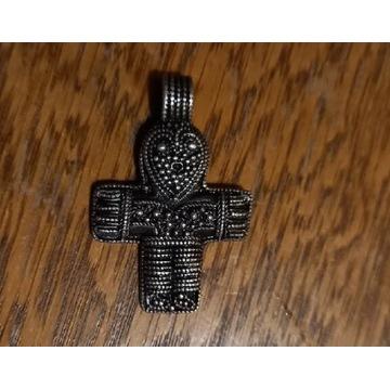Zawieszka krzyż Wikingowie, X w. Birka