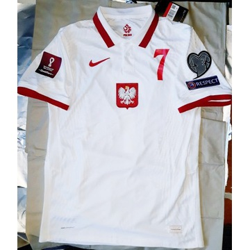 Koszulka meczowa Milik Polska VAPOR Lewandowski