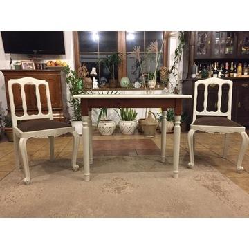 Komplet stół i 2 krzesła