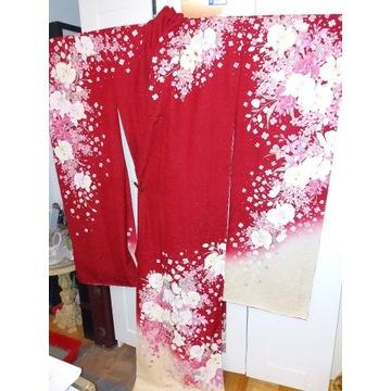 Nowe z metką damskie kimono furisode z Japonii