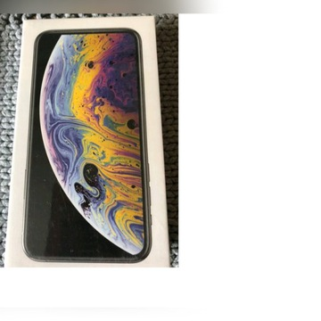 Nowy apple IPhone Xs 64gb silver