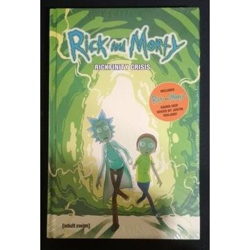 Rick and Morty Book 1 Rickfinity crisis hardcover