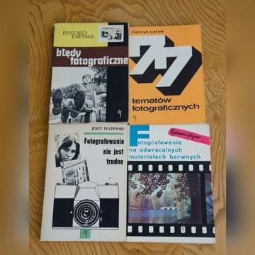 Zestaw Książki o fotografii