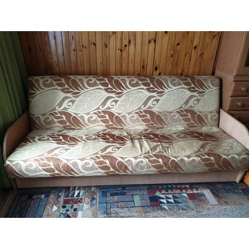 Rozkładana kanapa z pojemnikiem na pościel - nowa!
