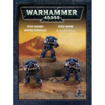 Space Marines mimi box + 3Weteranów+3farbki citade
