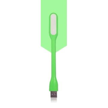 Lampka LED USB 1.2W flexi zielona
